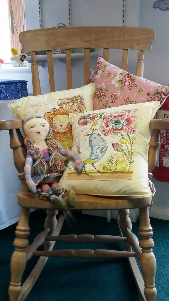 Cushion Cottage, Textile goods