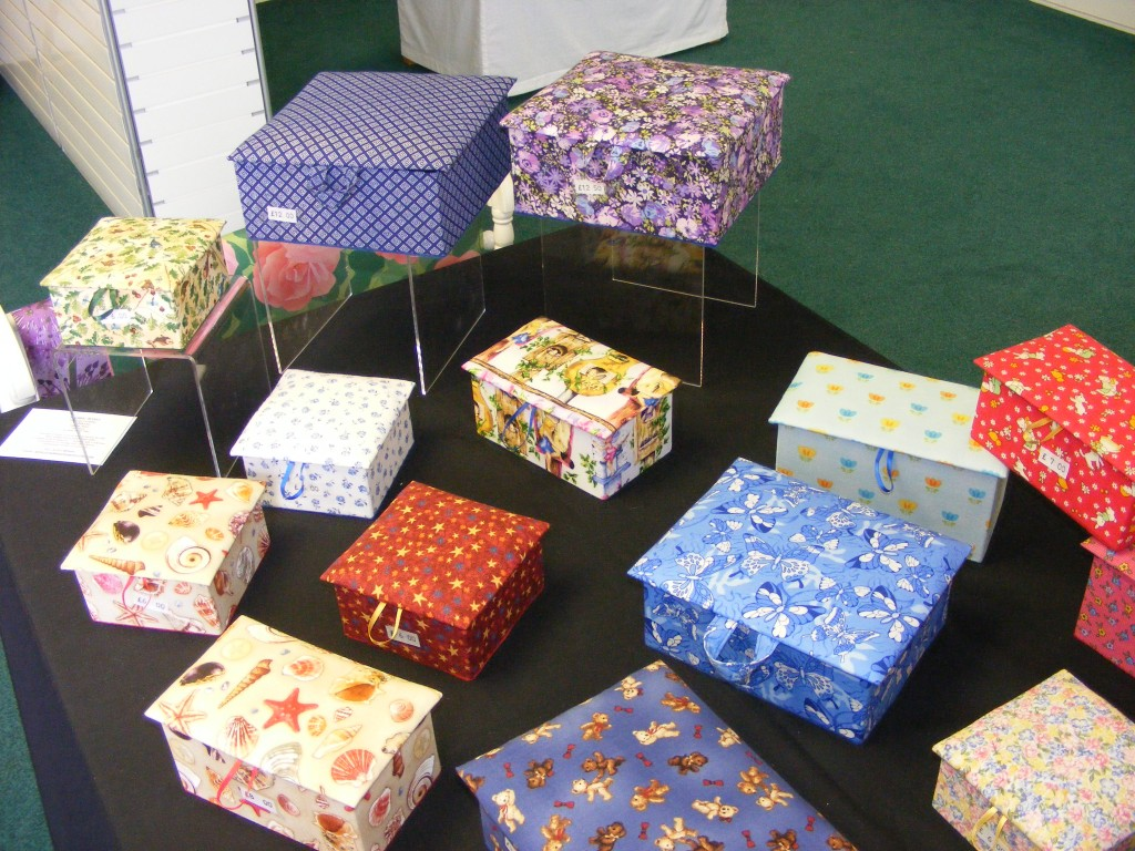 "Boxes from 4"" square, Memory & Workboxes"