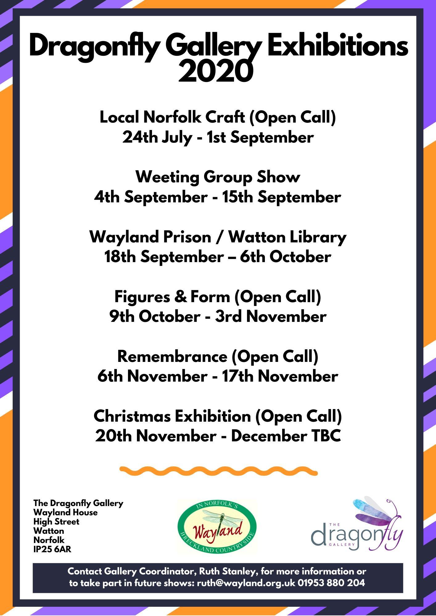 Exhibitions List 2020