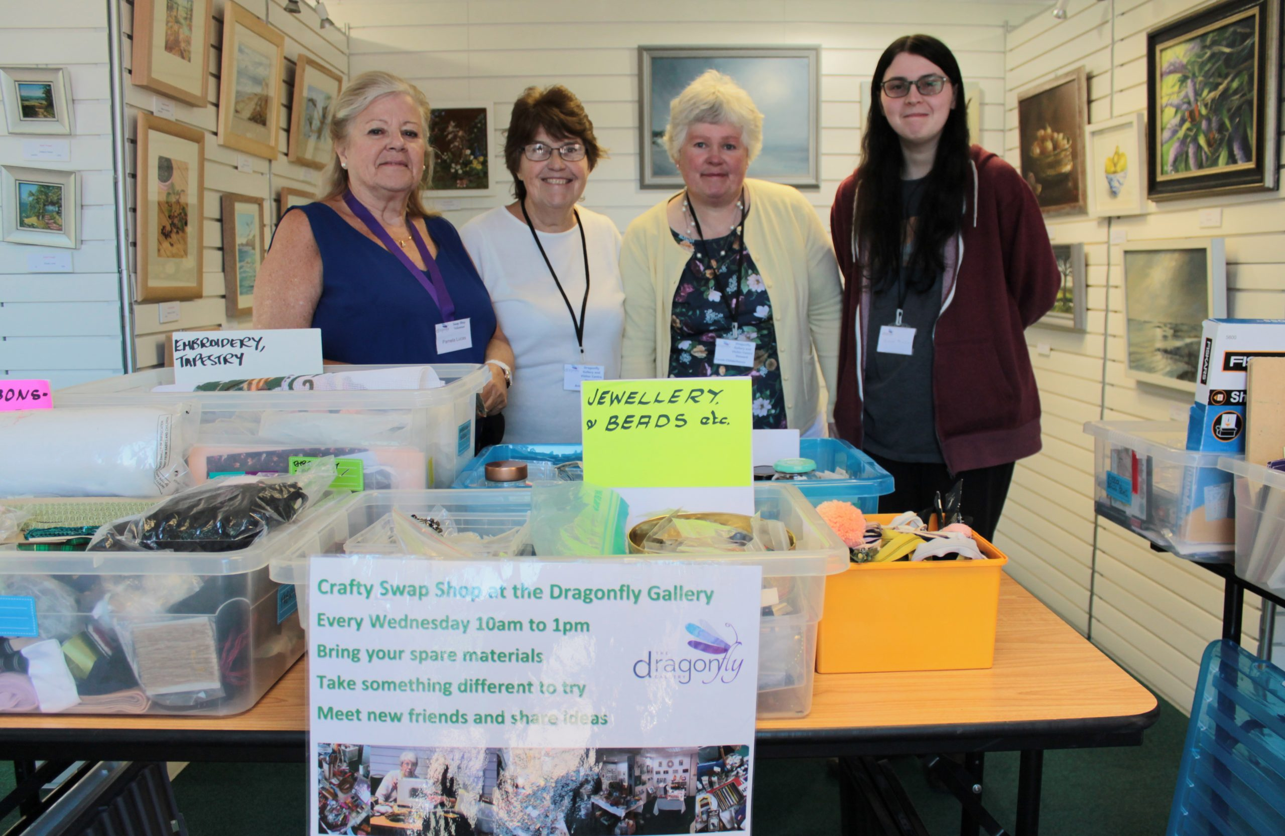 Swap Shop Volunteers