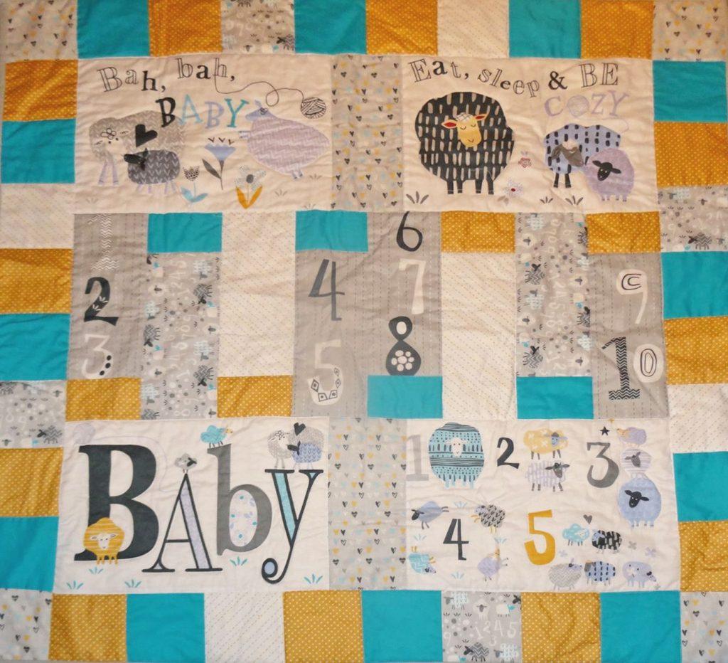 Baby quilt -Bron Tyler
