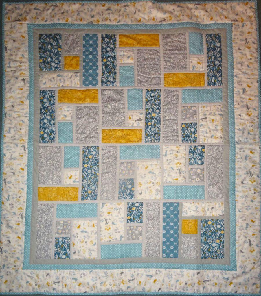 Rupert's quilt -Bron Tyler