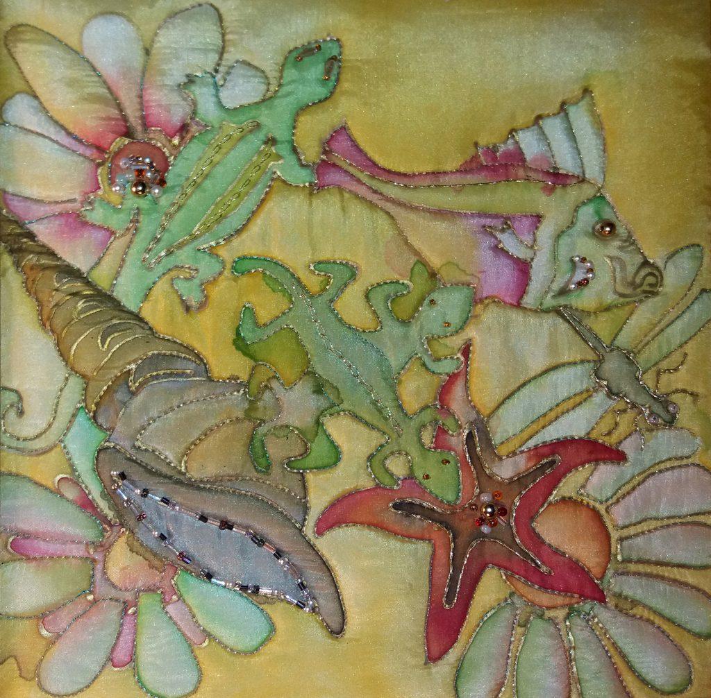 Seascape -Olann Ridewood