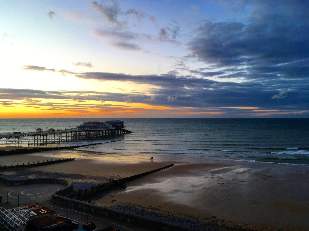 Cromer Pier Sunset - Ruth Stanley