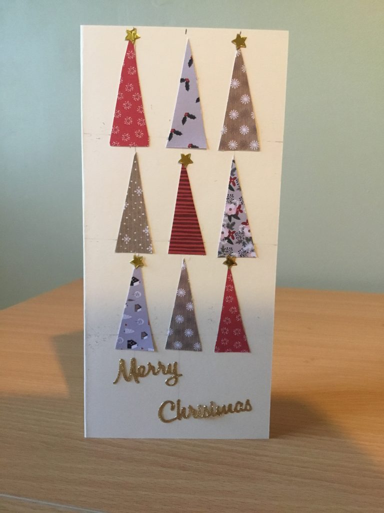 Val Simpson - Handmade Christmas Card - Contact the gallery to purchase