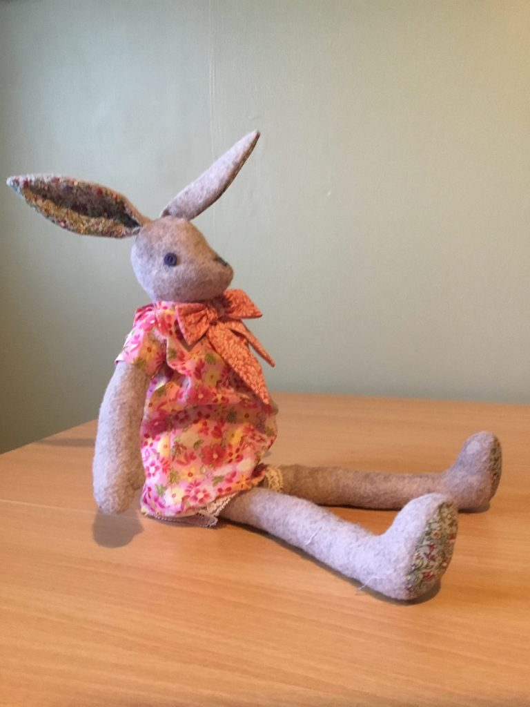 Val Simpson - Val Simpson - Handmade Cuddly Toy - Contact the gallery to purchase