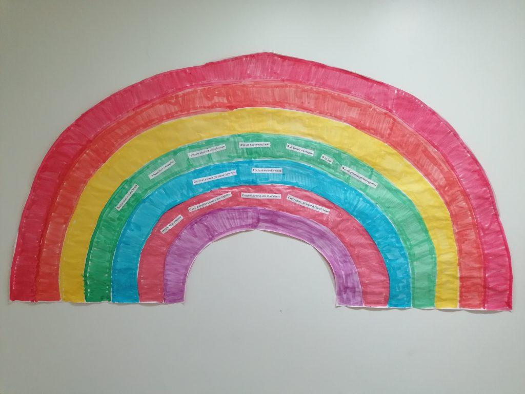 Rainbow - Gail Fox -Lancaster House