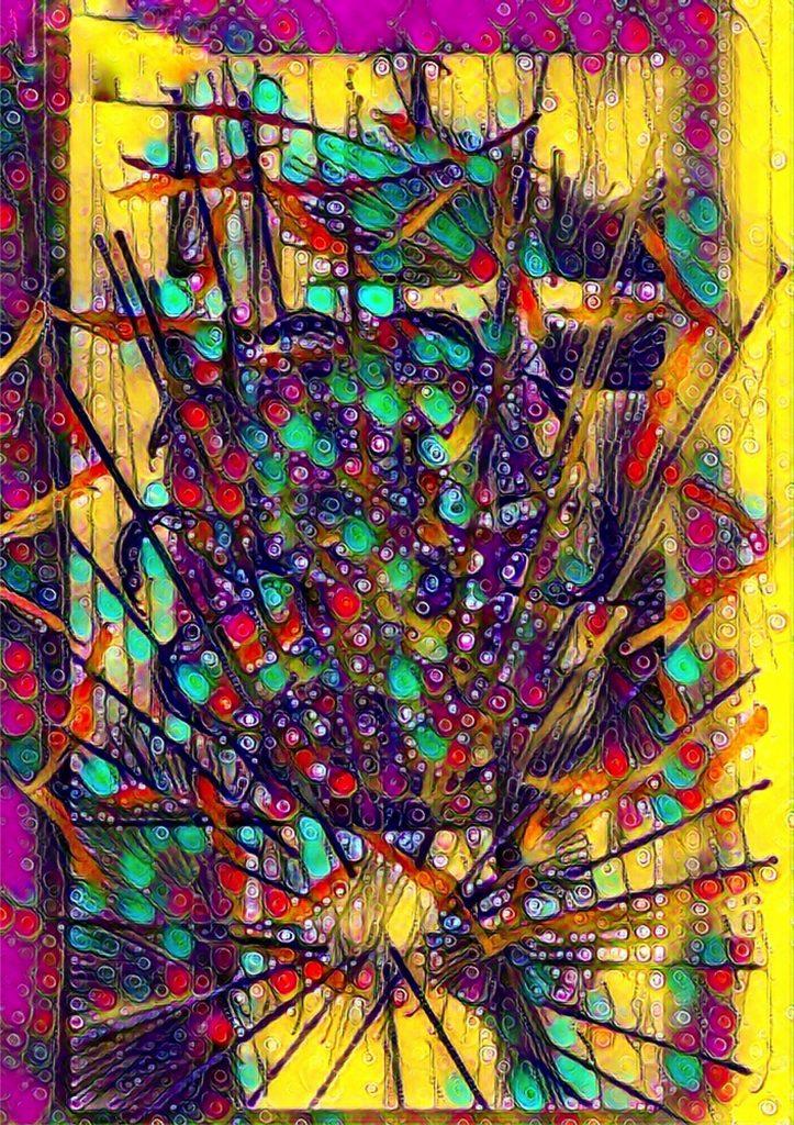 Pybus - Impression Of Colour Fulfilment - Digital art - 80 x 60cm - £170