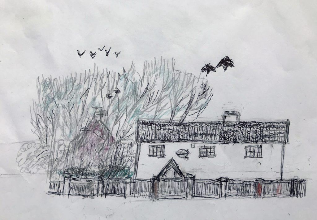 Cottage from memory - Neil Cordell - Thorp House