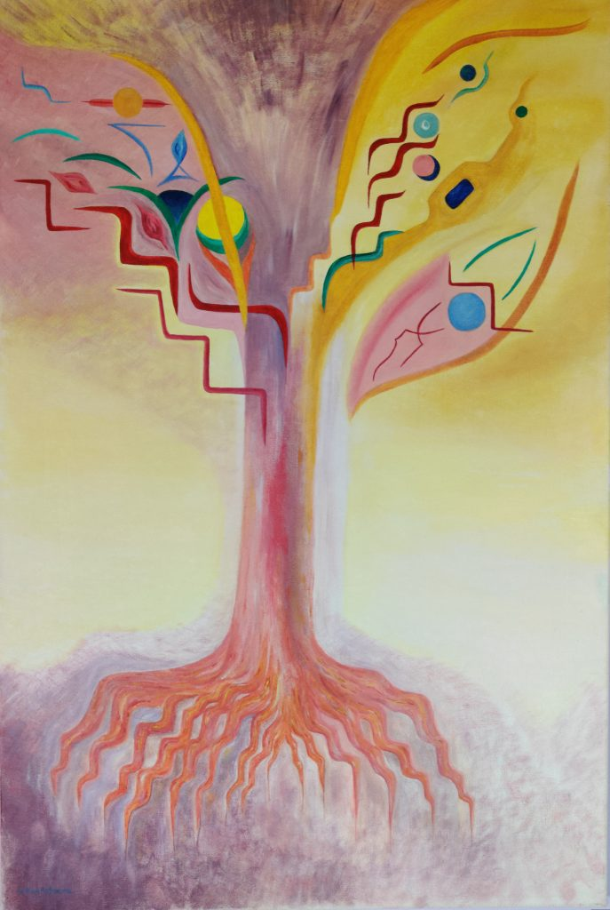 Sonia Ben Achoura - Oil on canvas - W61 x H91 - £950