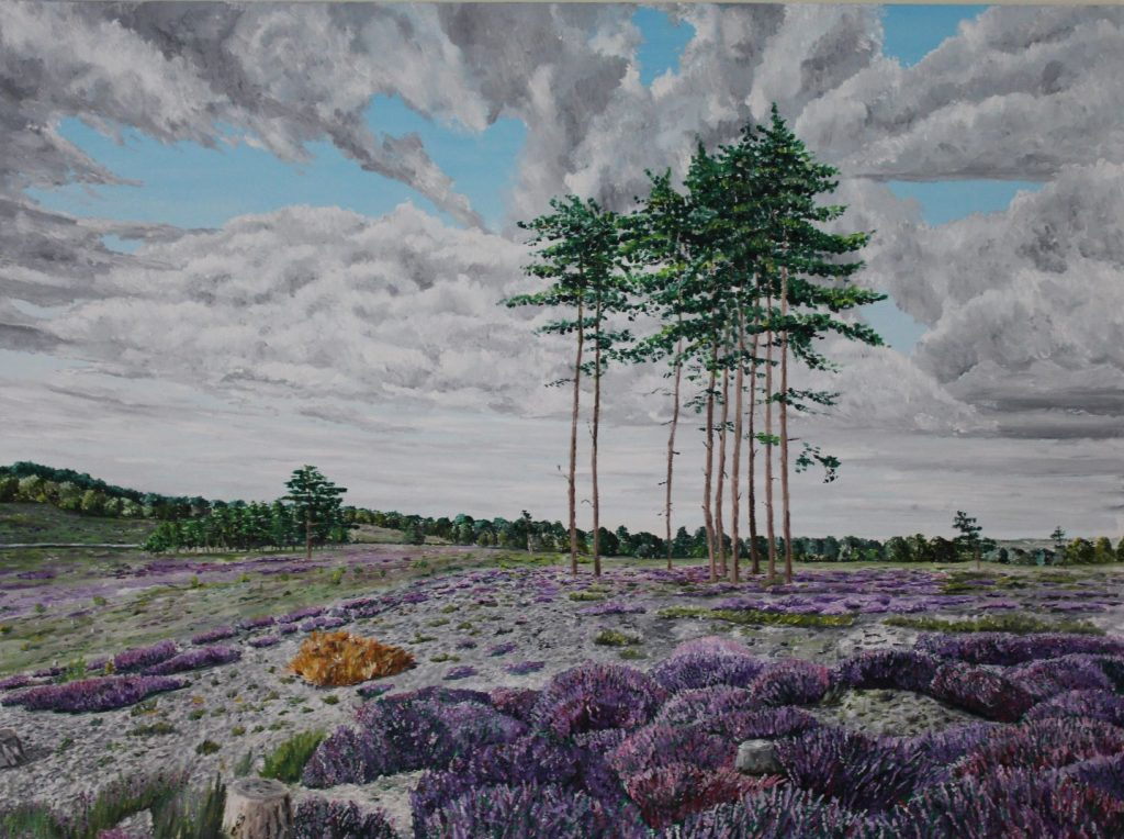 Clive Bohannan - Summer Trees - Oil on Canvas- 80cm x 60cm - £480