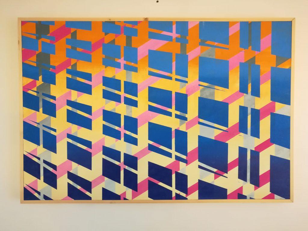 John Rance - Sunlight on the Bridge - Oil on board - 90 x 60 cm - £450