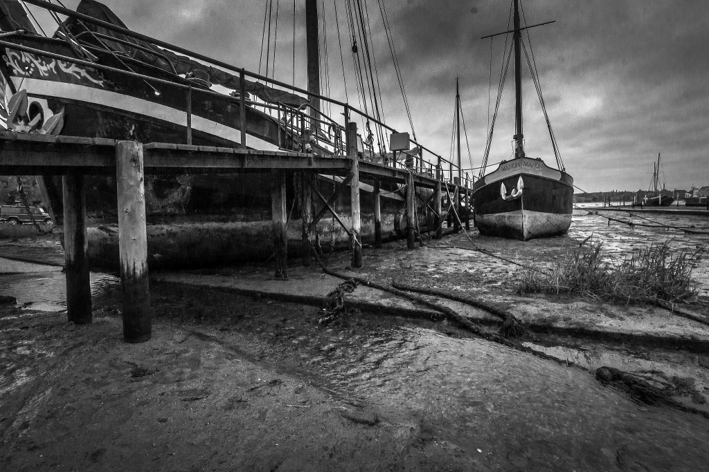 The Pure Image Works - Pin Mill Quay - Photograph - 90 x 60 cm - £195