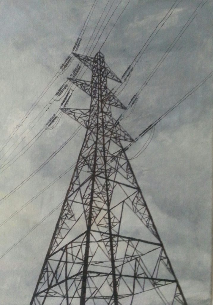 Alison Stirling - Pylon 3 - Giclee print (1/75) - 25 cm x 34 cm - £65