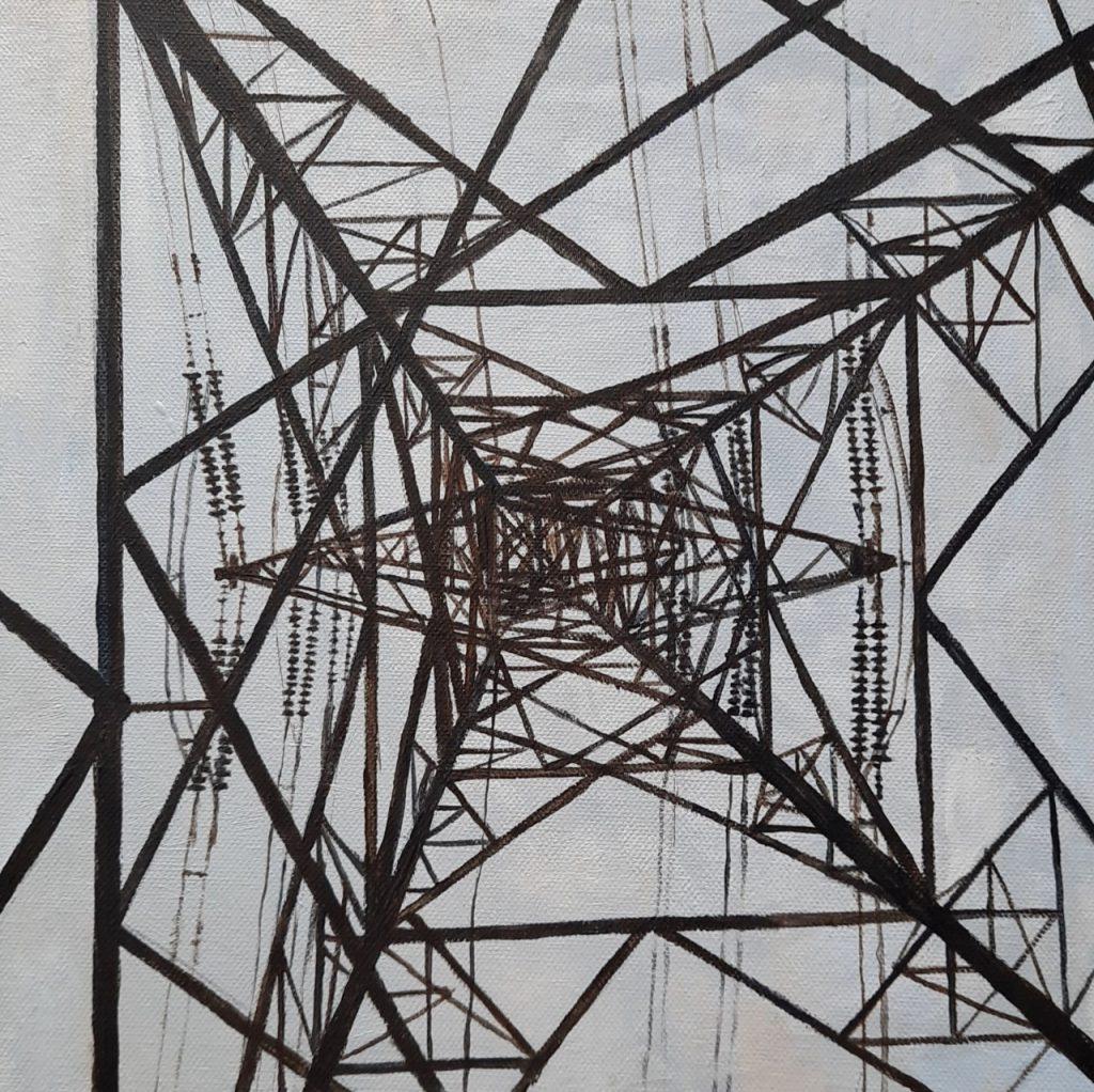 Alison Stirling - Pylon 4 - Giclee print (1/75) - 22 cm x 22 cm- £65