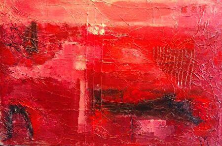 Philip McCumskey - The Pond - Acrylic on canvas - 40cm x 60 cm- £165