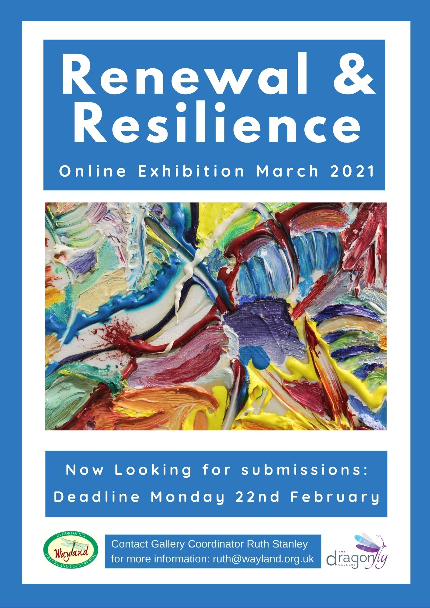 March - Renewal & Resilience Online Exhibition