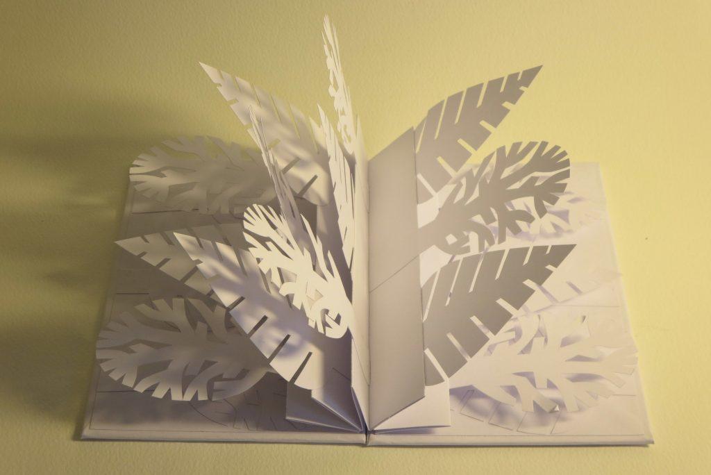 Lizanne van Essen - Growth - Artist's book, card & paper - 11 x 15.4 cm - £65