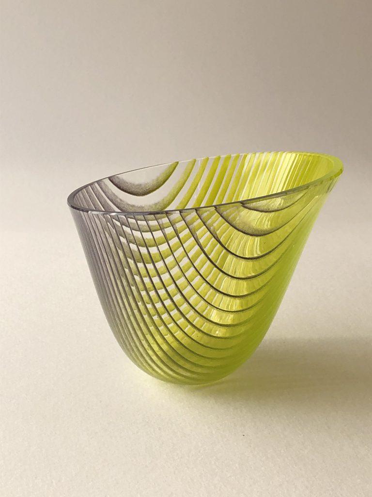 Helen Restorick - New Growth - Glass Vessel - 11.5 x 10.5 cm - £150