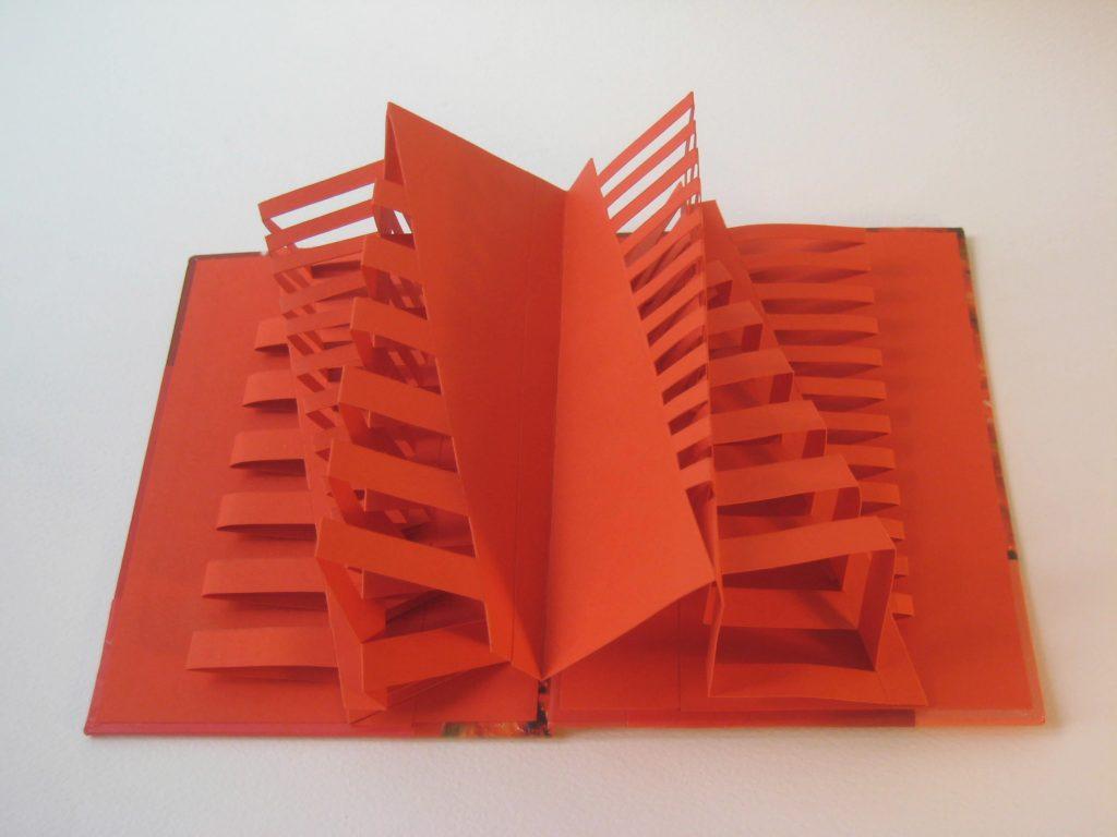 Lizanne van Essen - Resilience- Artist's book, card & paper- 11 x 15.3 cm- £65