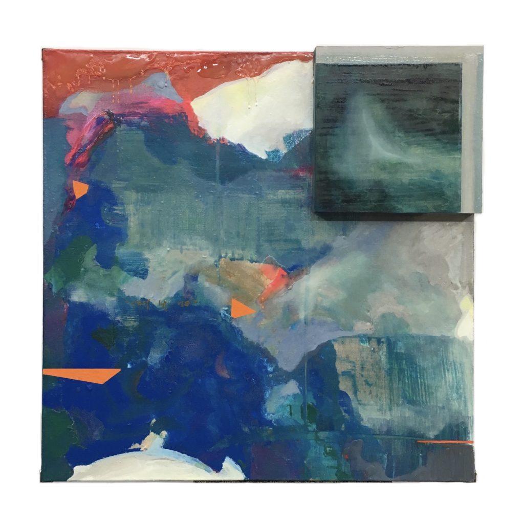Yiting Xie - c'est la vie II - Acrylic - 80 x 80 cm - £1000