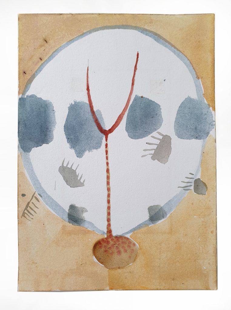 Carl Rowe - Sticks - Watercolour - 30 x 40 cm - £250