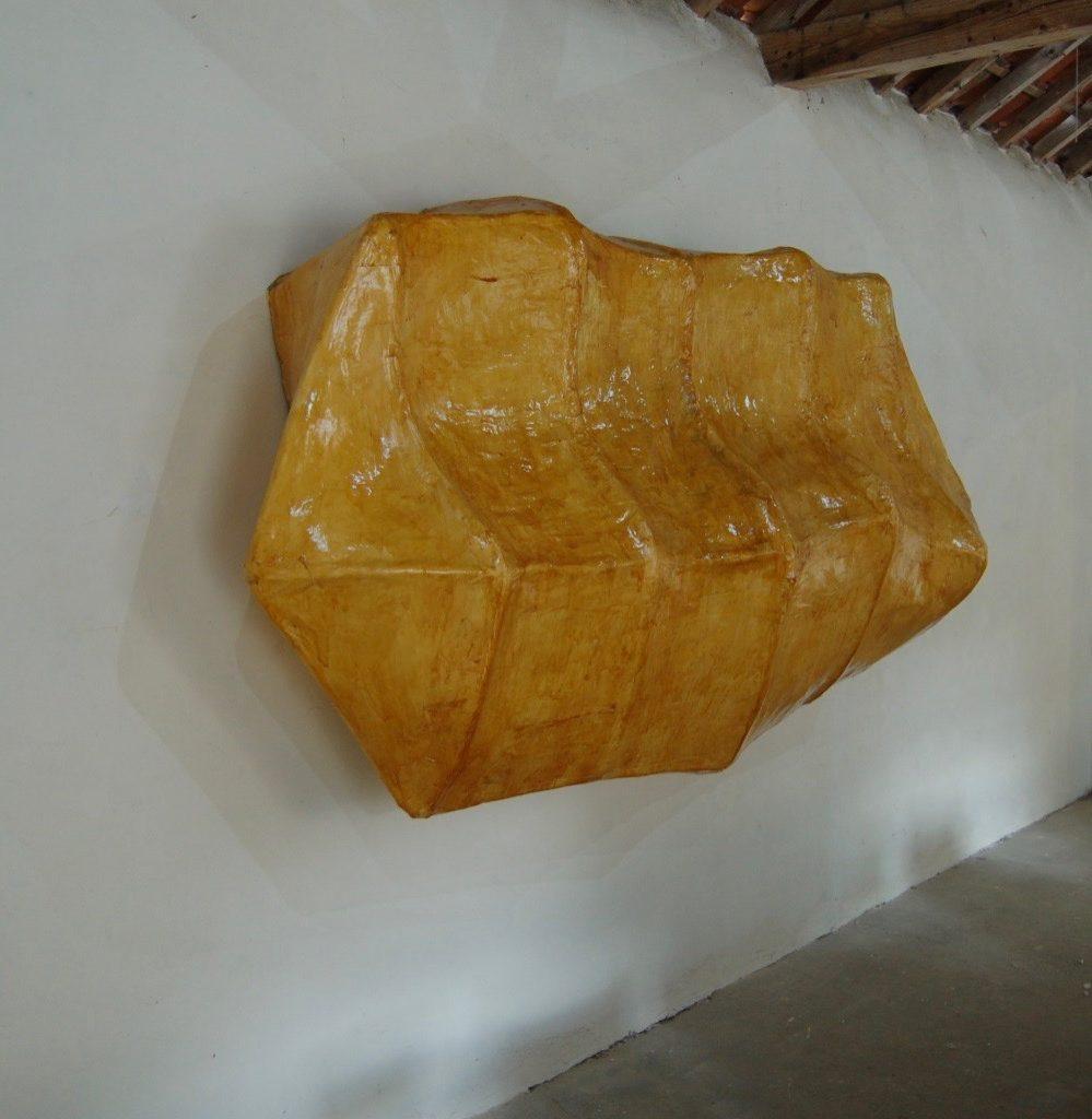 Desmond Brett - Bulwark 2 - paper, glue & shellac