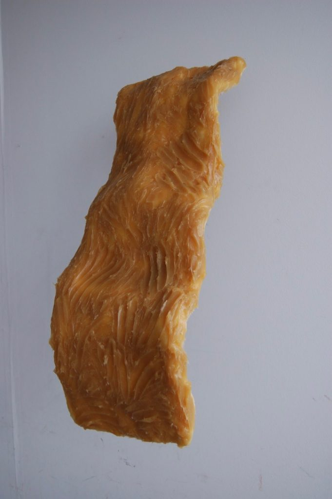 Desmond Brett - Untitled  2 - plaster/ scrim / wood / lithium grease