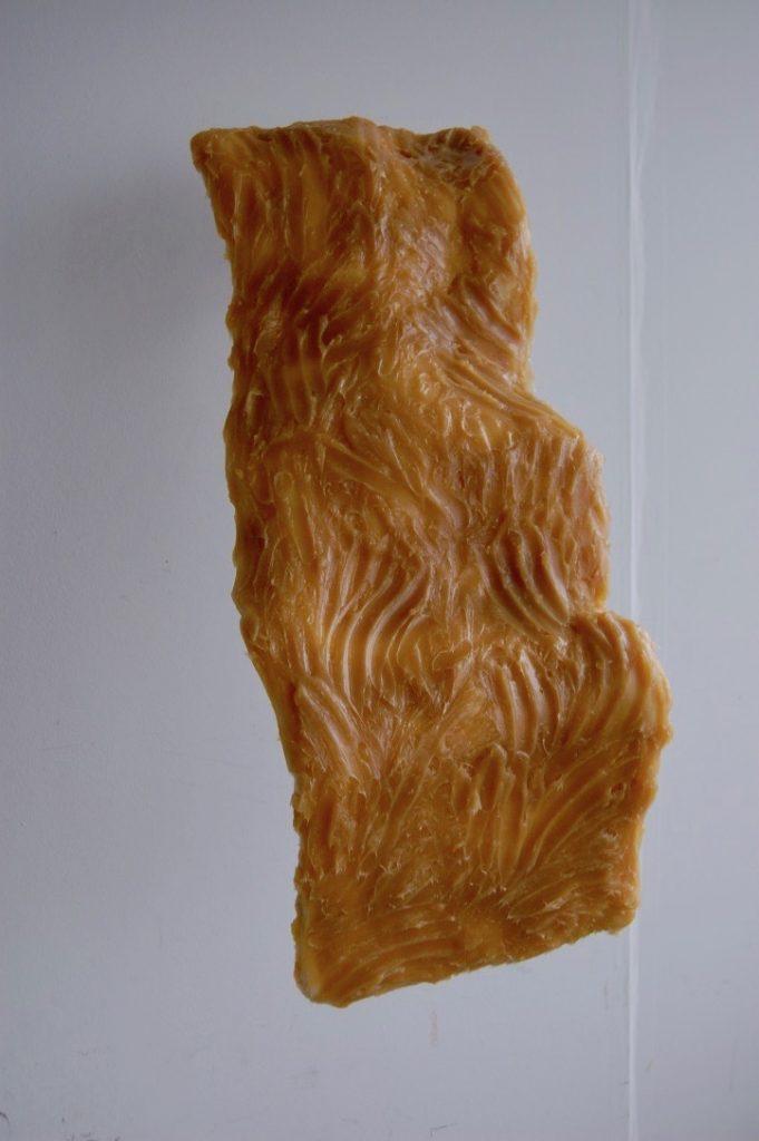 Desmond Brett - Untitled 1 - plaster/ scrim / wood / lithium grease