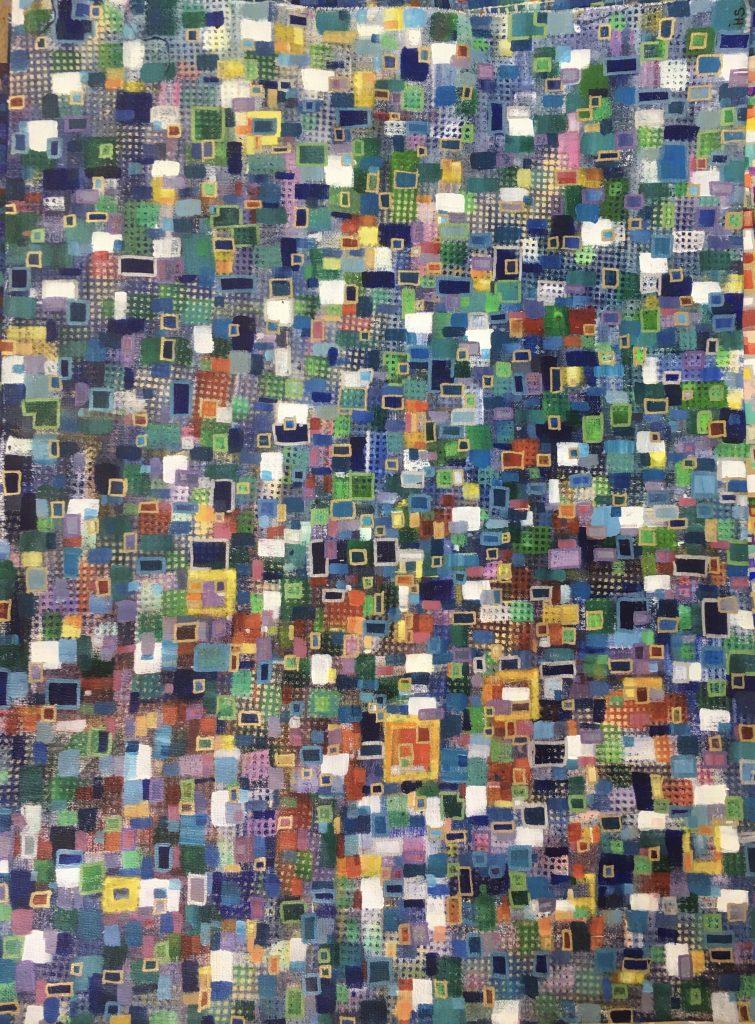 Helen Stevenson - Exponential - Acrylic and ink - 61 x 91 cm (framed) - £200