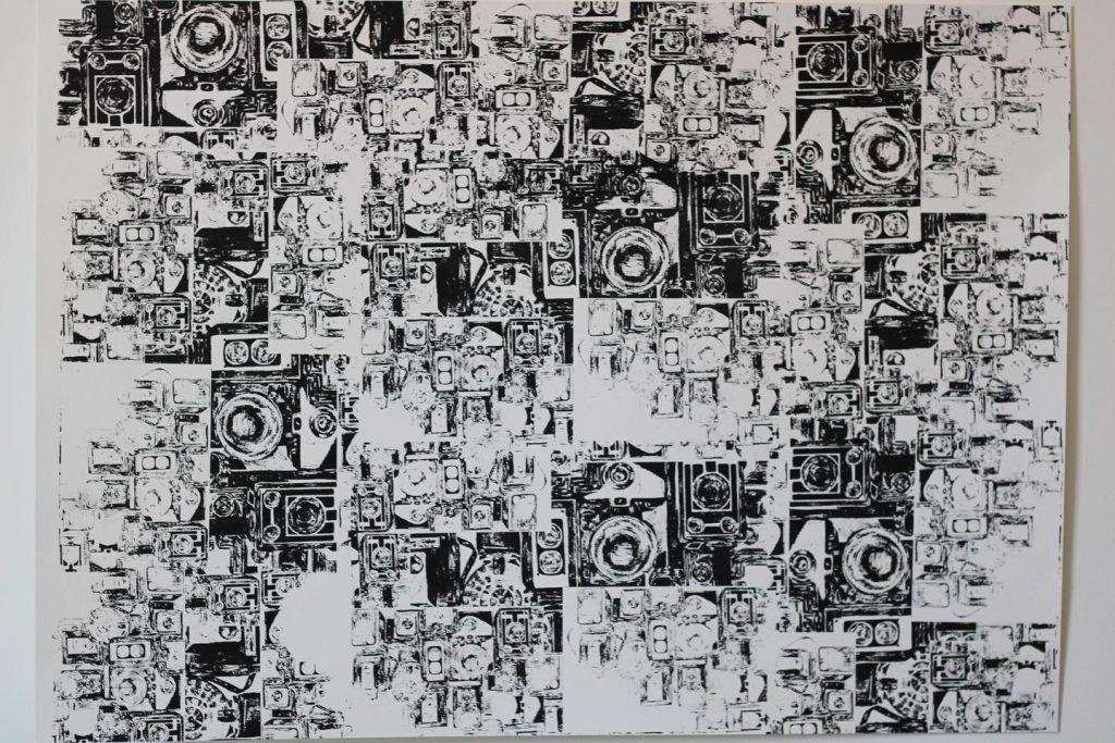 Grace Batterbee - Untitled - Screen print - A2 - NFS