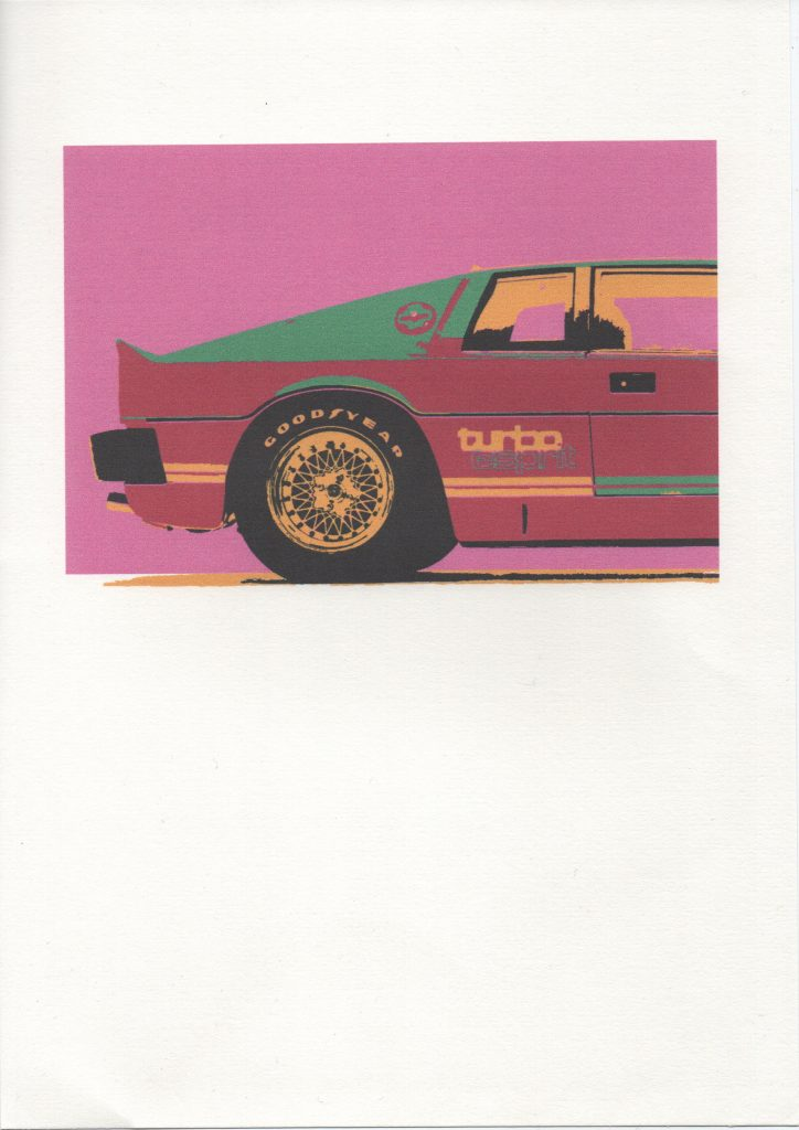 Oliver O'neill - Lotus Esprit - Digital Print on Paper - 29.7 x 21 cm - £20
