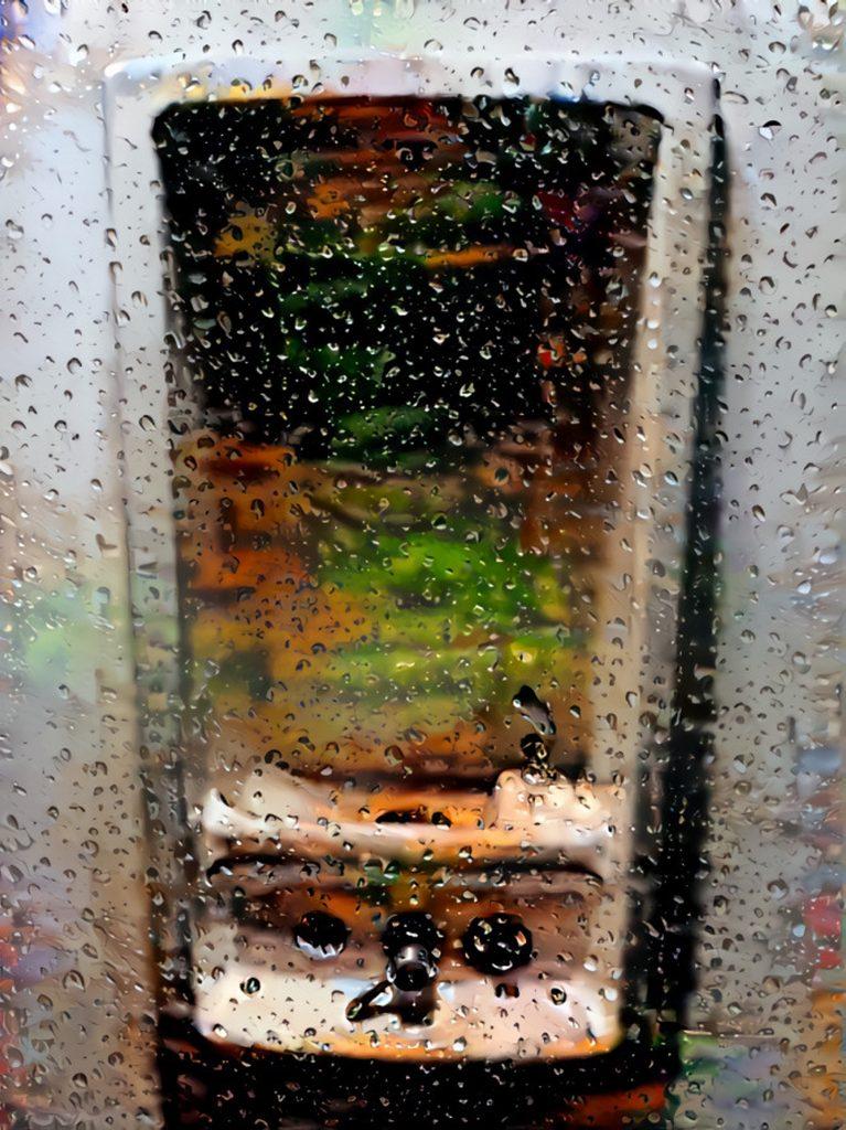Pybus - Contaminated Wash Basin - Digital Print- 80 x 40 cm - £120