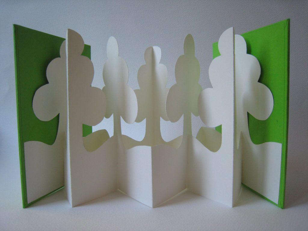 Lizanne van Essen - Copse - Artist's Book - 11 x 15 cm (closed) - £75