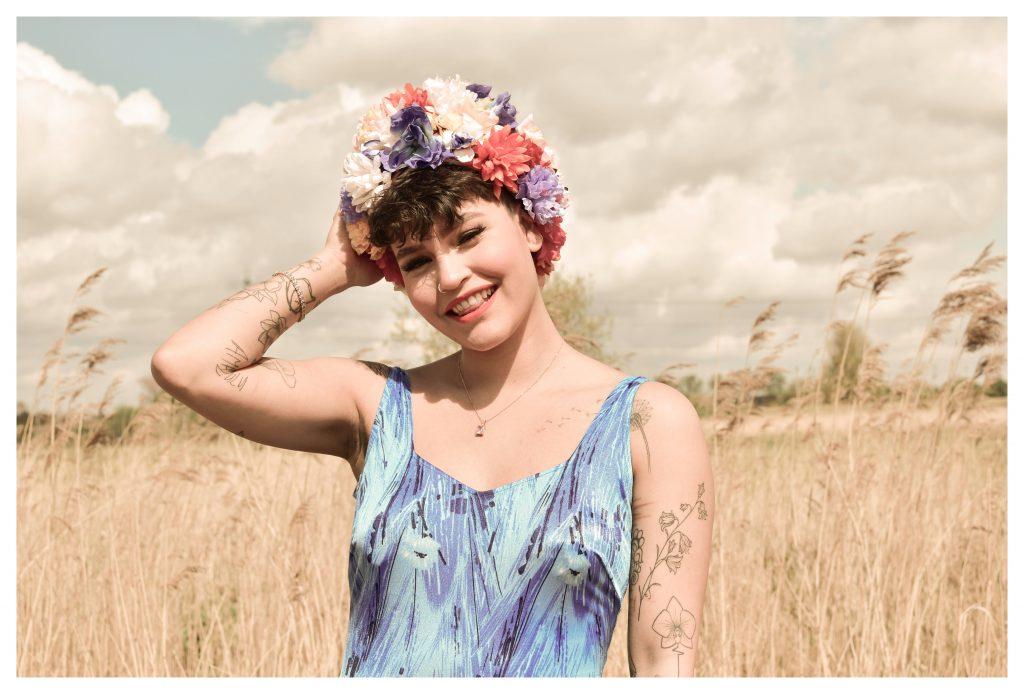 Sian Dorman - 50s Vintage Floral Hats - Headwear / Textiles - 50 x 50 cm - NFS