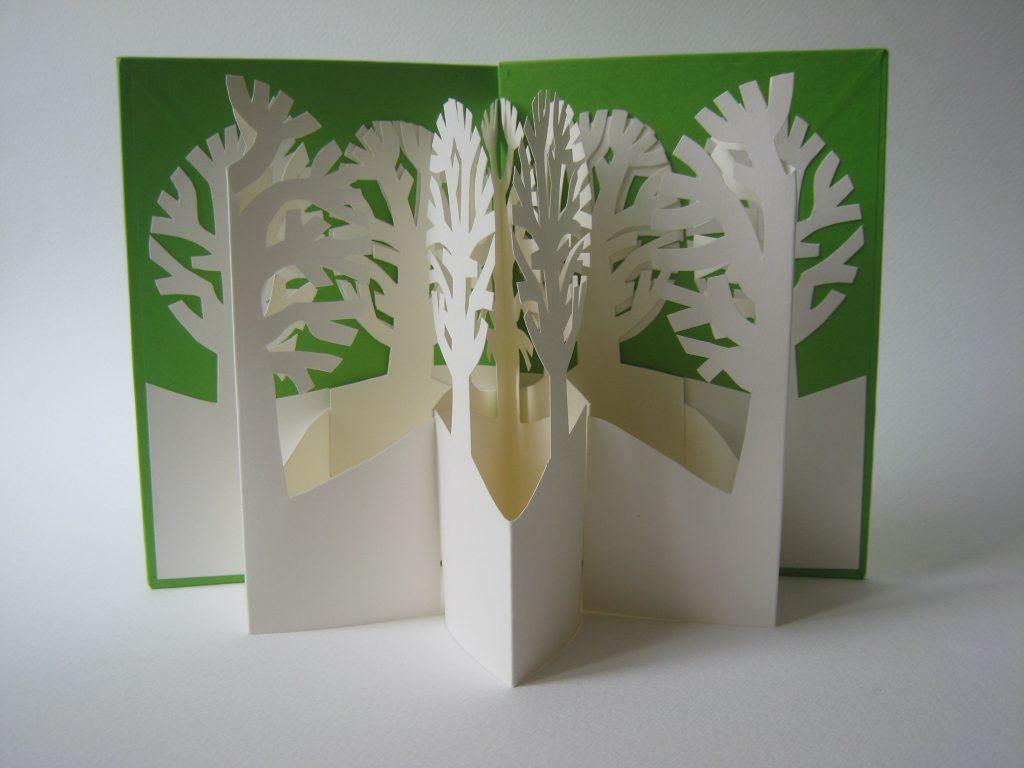 Lizanne van Essen - Grove - Artist's Book - 11 x 15 cm (closed) - £75