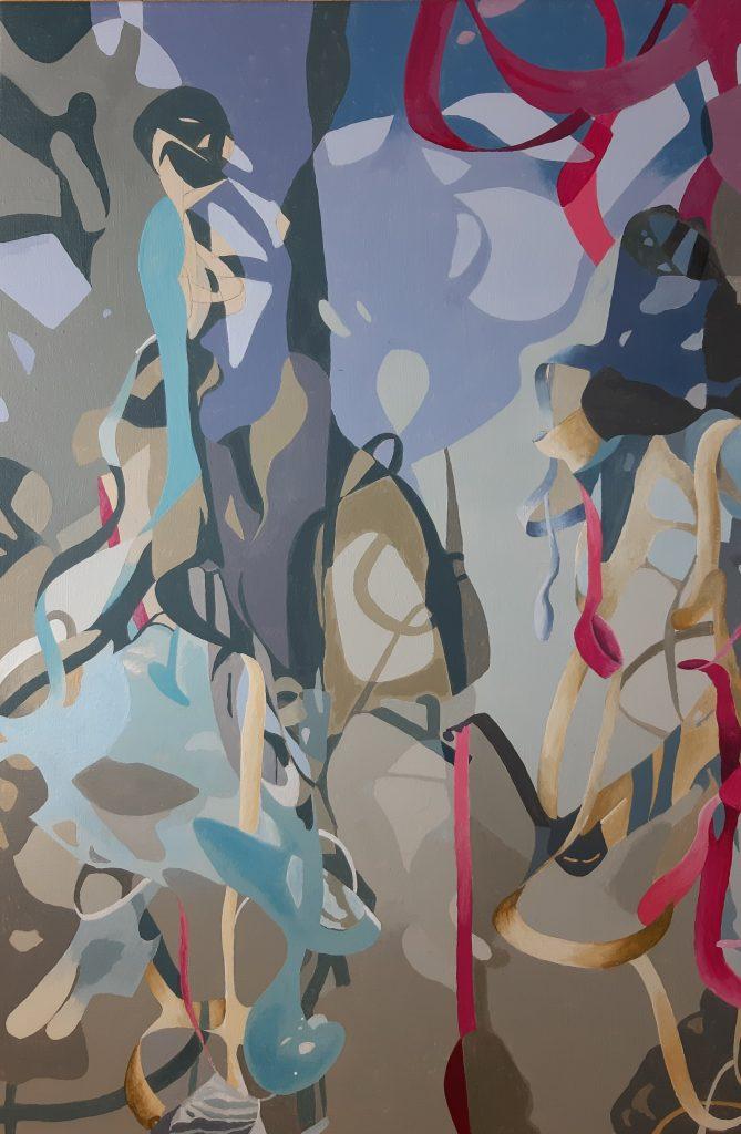 Caroline Clarke - Untitled - Acrylic - 60 x 90 cm - NFS