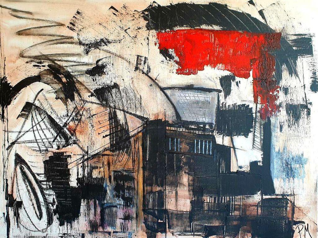 Philip McCumskey - Urban Energy - Acrylic on canvas - 50 x 70 cm - £320
