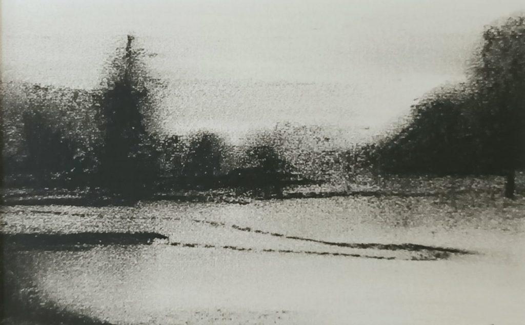 Amy Rogers - Untitled 8, 2021 - Charcoal - 20.5 x 12 cm - £120